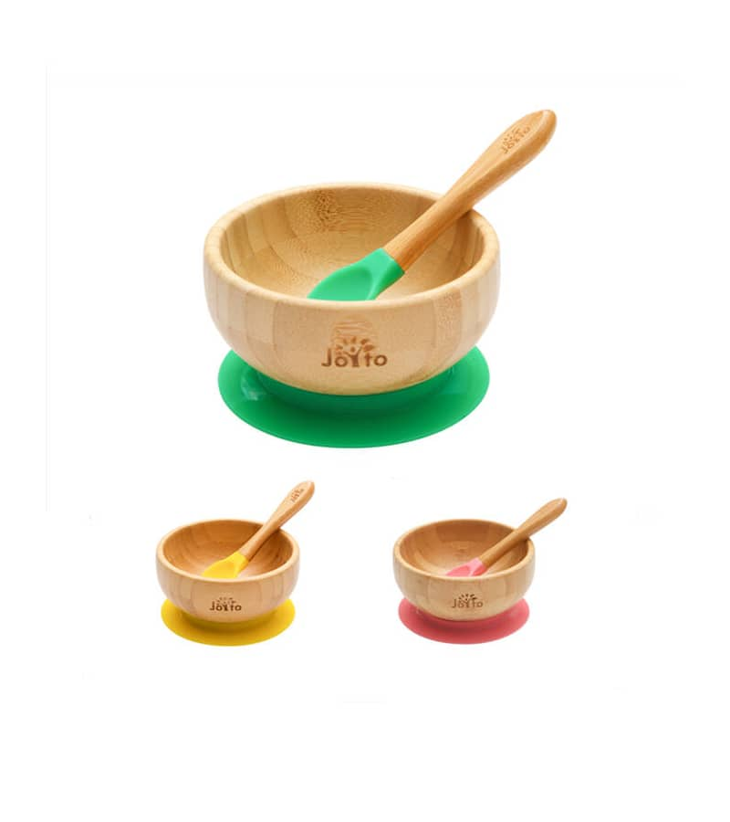 bambo bowls in multiple colours
